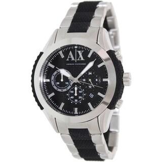 Armani Exchange Men's AX1214 Two-tone Stainless Steel Quartz Watch