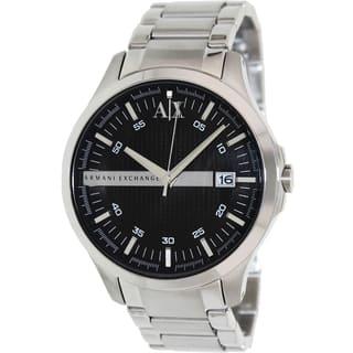 Armani Exchange Men's AX2103 Stainless Steel Quartz Watch|https://ak1.ostkcdn.com/images/products/9306535/P16467850.jpg?impolicy=medium