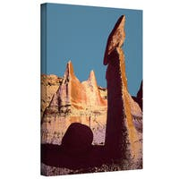 Dean Uhlinger 'Bisti Badland' Gallery-wrapped Canvas