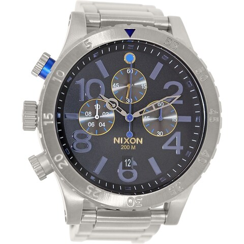 Nixon Men's '48-20' Chronograph Stainless Steel Watch