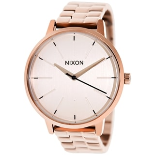 Nixon Women's Kensington A099897 Rose Goldtone Stainless Steel Quartz Watch