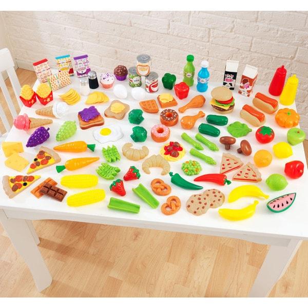 KidKraft 105-piece Tasty Treats Play Food Set