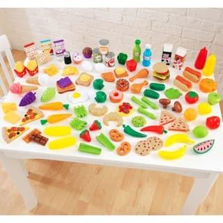 Kidkraft 105 Piece Tasty Treats Play Food Set