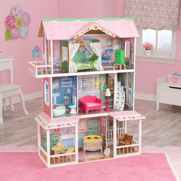 KidKraft Sweet Savannah Dollhouse   Free Shipping Today   Overstock.com    16467937