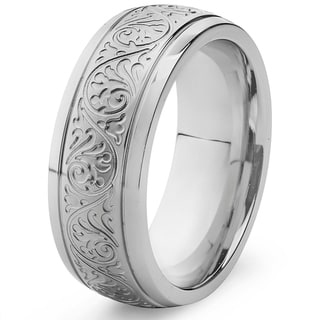 Link to Engraved Stainless Steel Ring Similar Items in Men's Jewelry