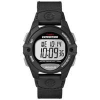 Timex Men's T499929J Expedition Digital CAT Black Nylon Strap Watch