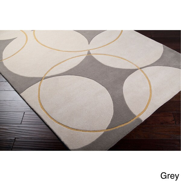 Shop Hand Tufted Allison Contemporary Geometric Wool Area