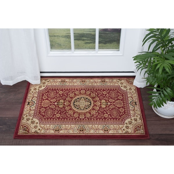 Alise Rugs Soho Traditional Oriental Scatter Mat Rug - 2' x 3'