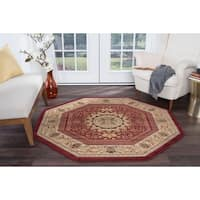 Alise Soho Red Traditional Area Rug - 7'10
