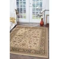 Alise Rugs Soho Traditional Oriental Area Rug - 6'7 x 9'6