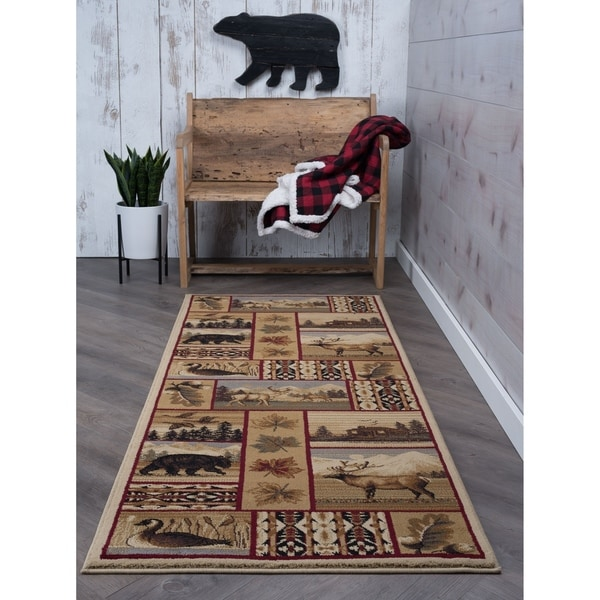 Shop Alise Natural Multi Lodge Runner