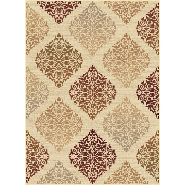Alise Infinity Beige Transitional Area Rug 7 10 X 10 3