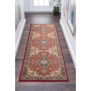 Alise Soho Traditional Runner Rug (2'7 x 7'3)