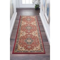 Alise Rugs Soho Traditional Oriental Runner Rug - 2'3 x 7'3