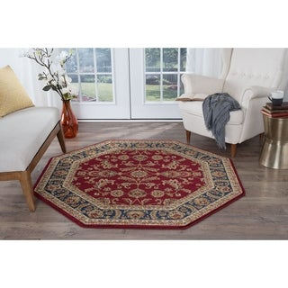 Alise Soho Transitional Area Rug (5'3 Octagon) - 5'3 Octagon