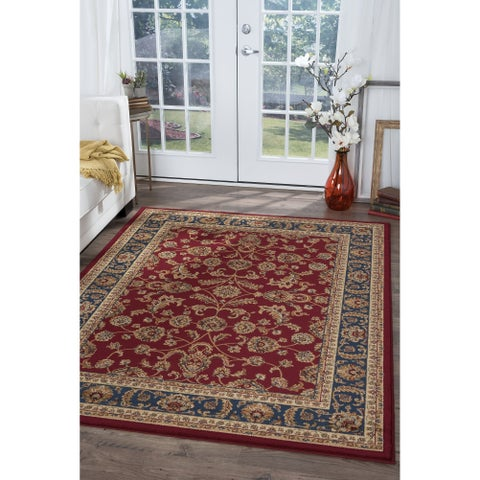 Alise Rugs Soho Transitional Oriental Area Rug - 7'10 x 10'3