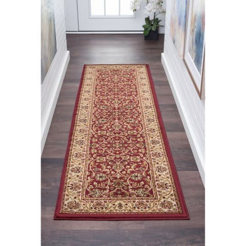 Alise Rugs Soho Transitional Oriental Runner Rug - 2'3 x 7'3
