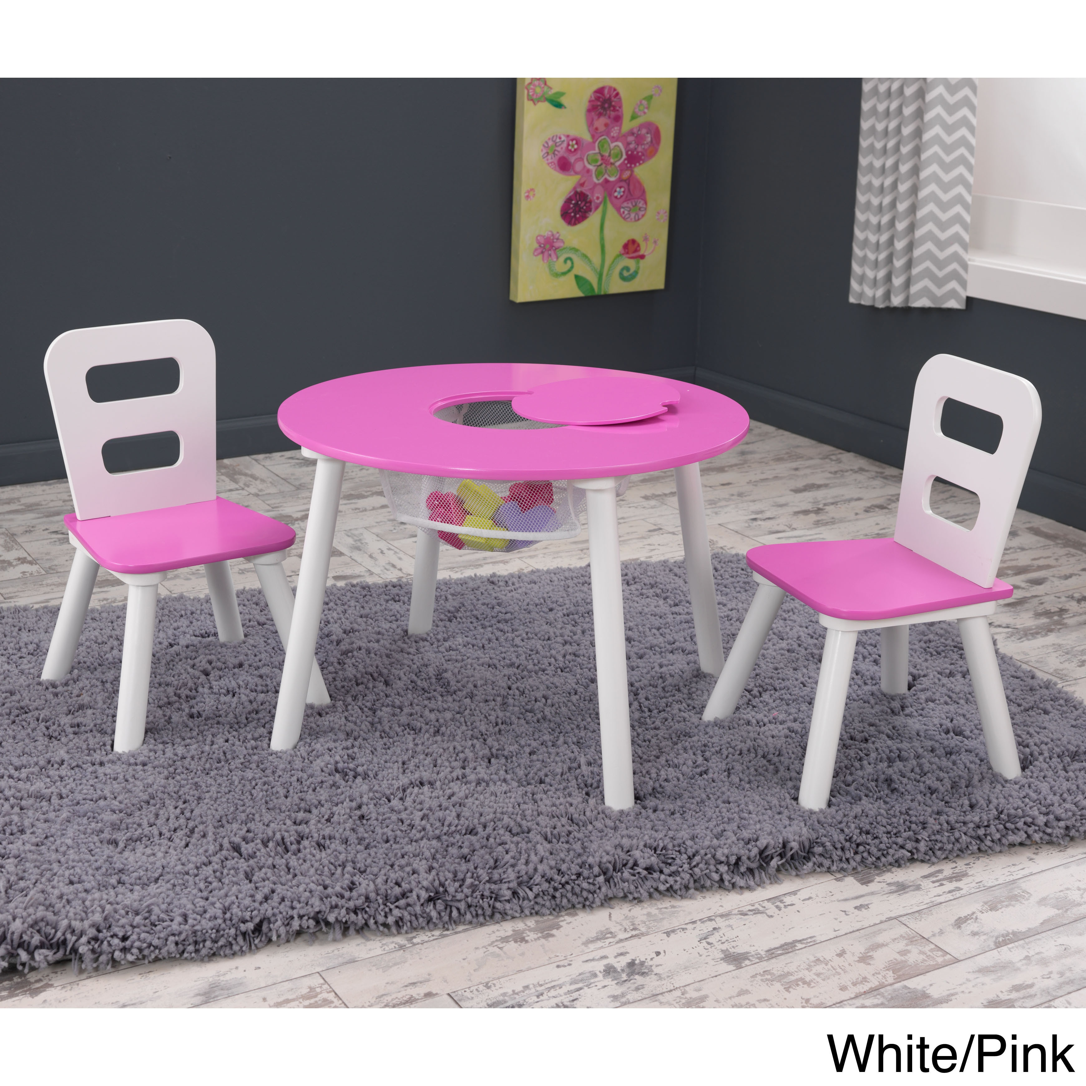 Prime Kidkraft 3 Piece Round Table And Chair Set Pabps2019 Chair Design Images Pabps2019Com