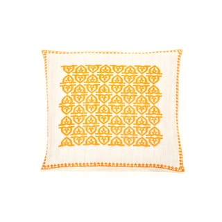 Trendsage 20-inch Pope Orange Decorative Throw Pillow