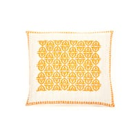 Trendsage 20-inch Pope Orange Decorative Throw Pillow - 20 x 20