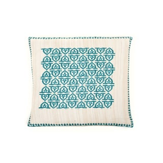 Trendsage 20-inch Pope Teal Decorative Throw Pillow