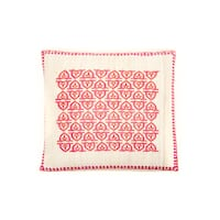 Trendsage 20-inch Pope Pink Decorative Throw Pillow - 20 x 20