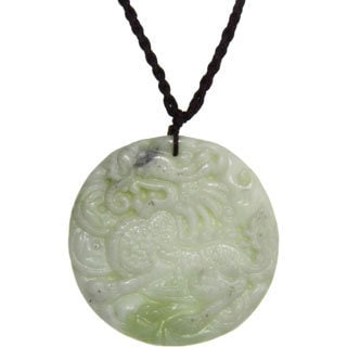 Blessing Animal Jade Pendant Necklace (China)