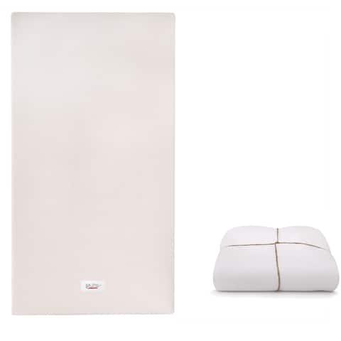Babyletto Coco Core Non-Toxic Crib Mattress with Smart Cover - White