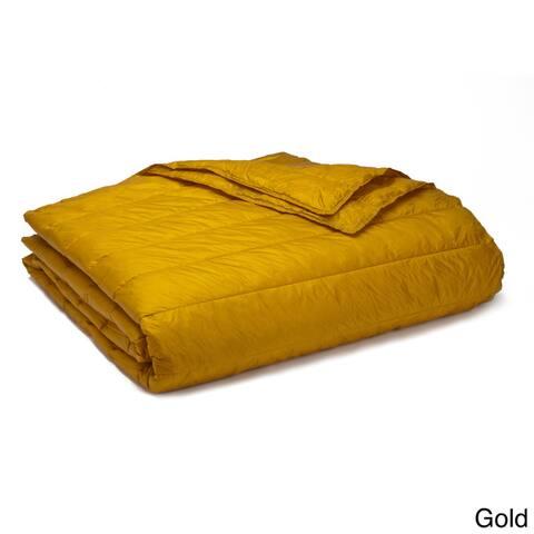 Travelwarm Packable Nylon Down Alternative Indoor/ Outdoor Blanket