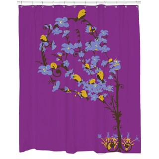 Cherry Tree Loving Shower Curtain