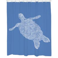 Elegant Turtle Shower Curtain
