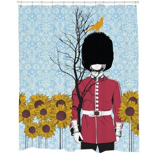 Branched Soldier Shower Curtain