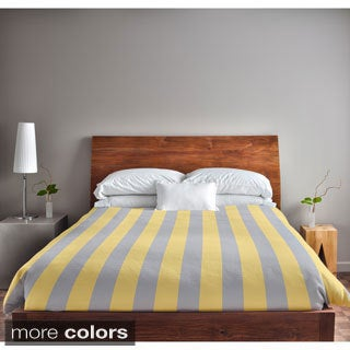 Rain Stripe King Duvet Cover