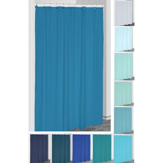 71 x 74 Solid Shower Curtain