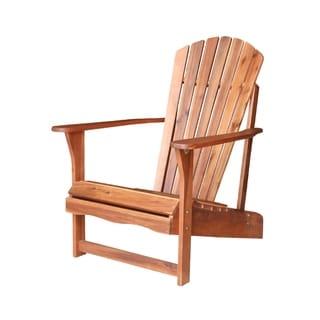 Solid Acasia Wood Adirondack Chair