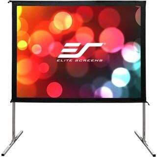 Elite Screens OMS100HR2 Yardmaster2 Portable Outdoor Self Standing Pr