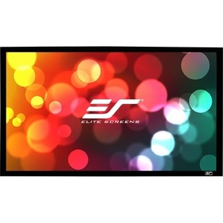 Elite Screens ER120WH1-A1080P3 Sable Frame Wall Mount Fixed Frame Pro