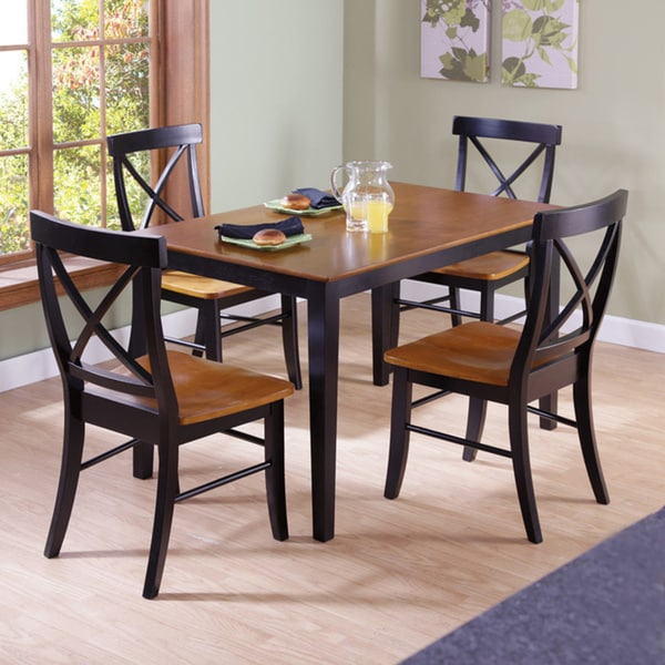 30 inch BlackCherry Standard Height 5 piece Dining Set  : 30 inch Black Cherry Counter Height 5 piece Dining Set 3278a516 1cab 45cf 92e7 a214a4057d94600 from www.overstock.com size 600 x 600 jpeg 64kB