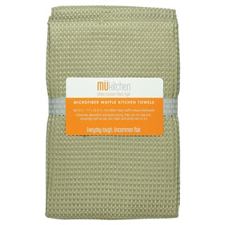 Pebble Waffle Microfiber Dishtowel (Set of 2)