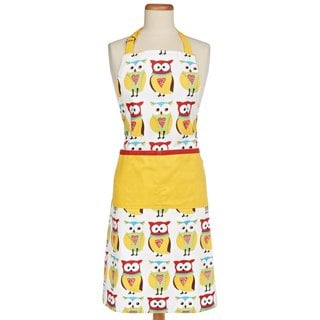 Owl Cotton Apron