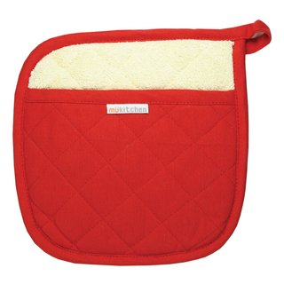 Red Cotton Potholder