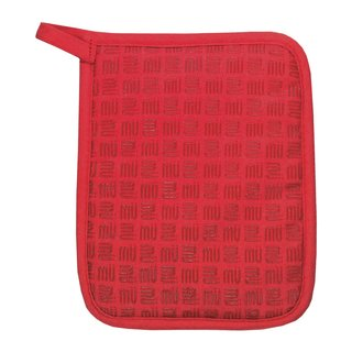Pepper Red Silicone Grip Potholder