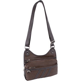 Parinda Gianna Multi Zip Crossbody Bag