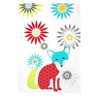 Fox Cotton Kitchen Towel