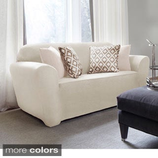 Maude One-piece Stretch Sofa Slipcover