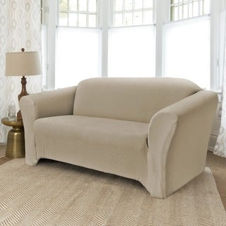 QuickCover Piccadilly One-piece Stretch Sofa Slipcover