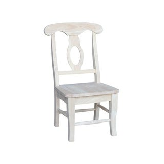 Unfinished Children's Empire Chair (Set of 2)