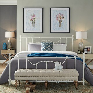 Bellwood Victorian Iron Metal Bed by iNSPIRE Q Classic