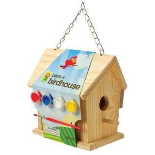 Toysmith Paint A Birdhouse|https://ak1.ostkcdn.com/images/products/9310286/P16471354.jpg?impolicy=medium