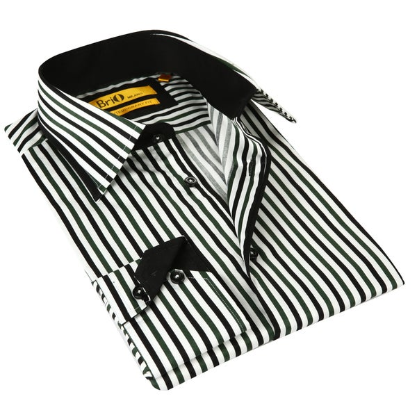 Find black and white striped shirt men at ShopStyle. Shop the latest collection of black and white striped shirt men from the most popular stores -.